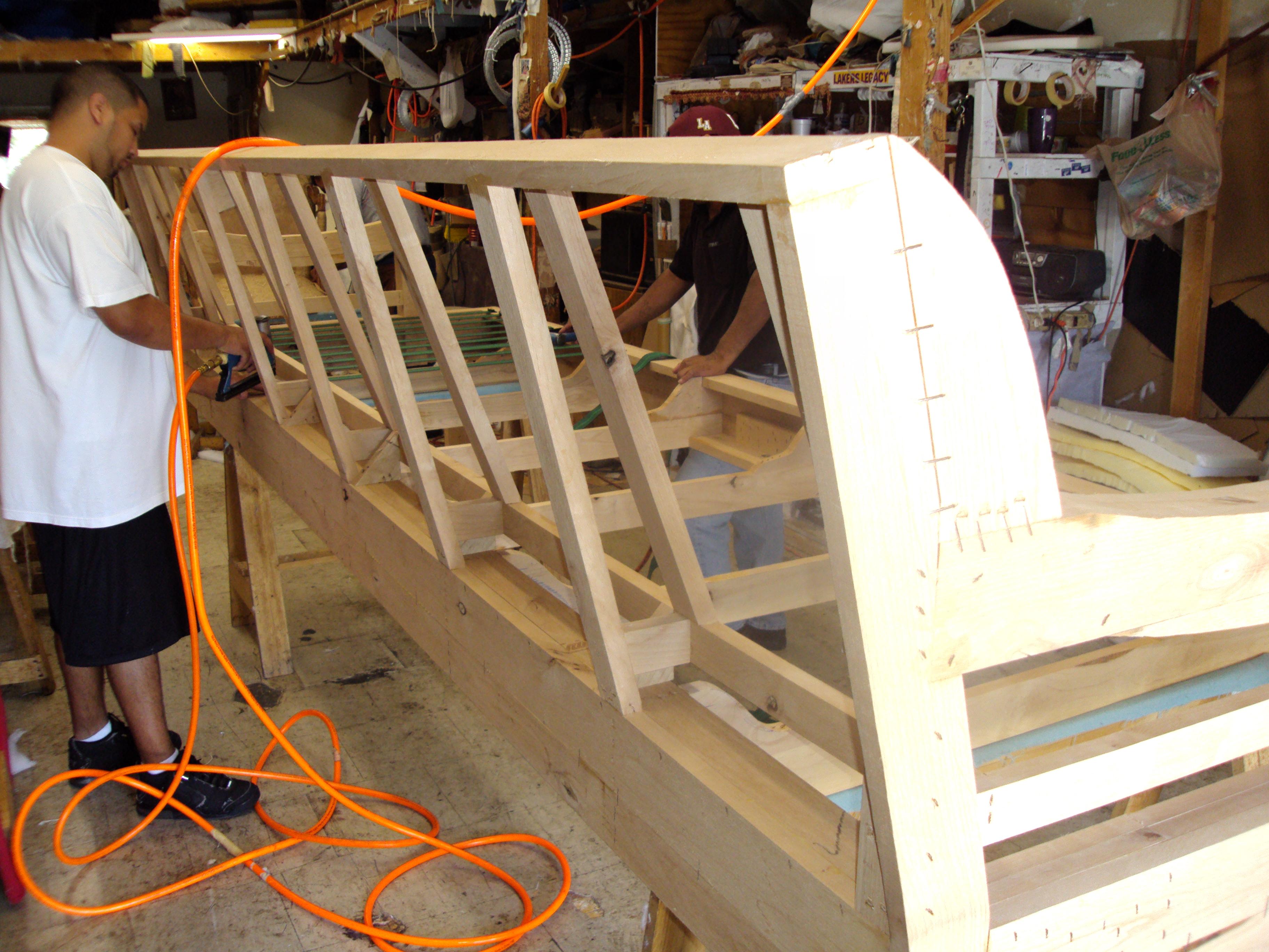 Cimarron CA Restoration Reupholstery Custom Furniture Upholstery